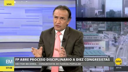 """Héctor Becerril: """"Alberto Fujimori no se merecía un indulto cuestionado"""""""