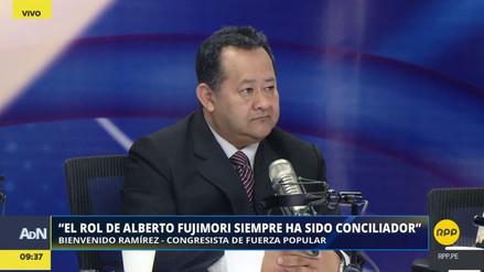 """Bienvenido Ramírez sobre fujimoristas disidentes: """"Somos un grupo fuerte, como un roble. No nos van a doblegar"""""""