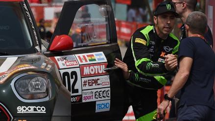 Nani Roma recibe el alta médica tras el accidente que sufrió en el Dakar