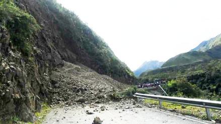 Vía Cusco - Quillabamba interrumpida por deslizamientos