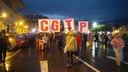 Marcha contra indulto a Fujimori culminó de forma pacífica