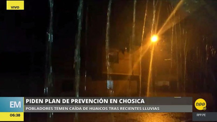 Alarma por lluvias en Chosica: vecinos temen que se reactiven las quebradas