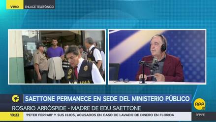 """La madre de Eduardo Saettone: """"No digo que es inocente, pero esto no es para ir a la cárcel"""""""