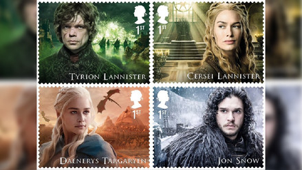 Servicio postal emitirá sellos de Game of Thrones