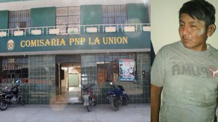 Detenido logró fugar de calabozo de comisaría en La Unión