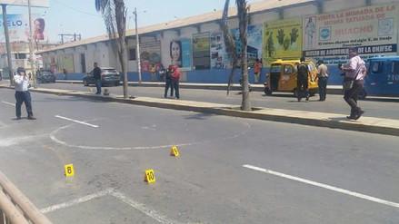 Huacho: cuatro delincuentes armados asaltaron agencia de cambio
