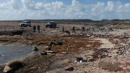 Cuatro venezolanos muertos y varios desaparecidos en un naufragio en las costas de Curazao