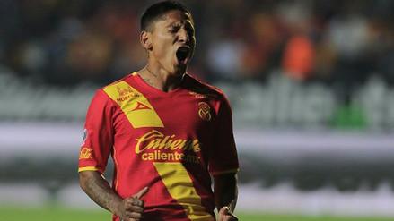 Raúl Ruidíaz anotó para Monarcas Morelia ante Puebla en la Liga MX