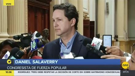 """Salaverry: """"El crecimiento de Kenji Fujimori se debe a la negociación con el Gobierno"""""""