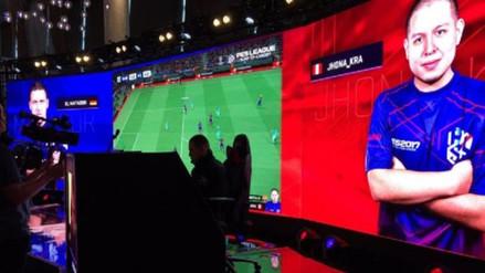 Luis 'Jhona' Salazar disputa en Japón el PES League World Tour 2018
