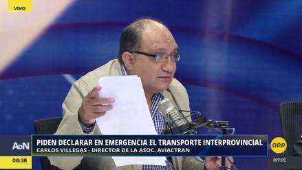 Piden declarar en emergencia en transporte interprovincial y de carga del país