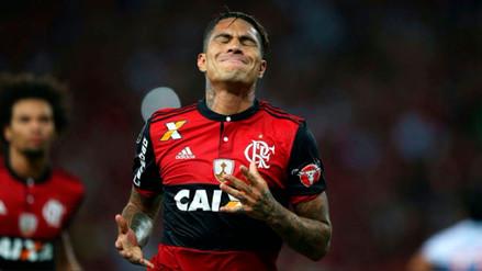 Contrato de Paolo Guerrero está suspendido en Flamengo
