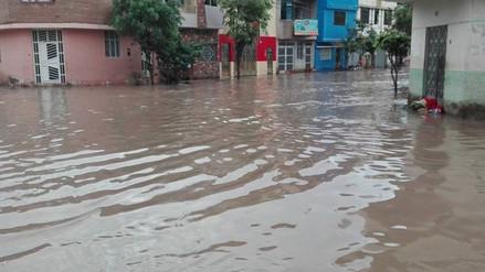 Más de 59 pueblos jóvenes en riesgo de inundación por lluvias en Leonardo Ortiz