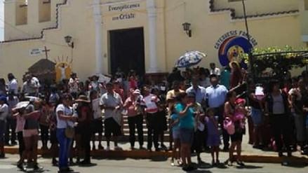 No habrá procesión de la Cruz en la calle Elías Aguirre de Chiclayo
