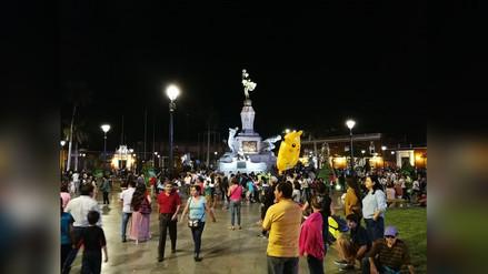 Entregan remodelada plaza de armas de Trujillo