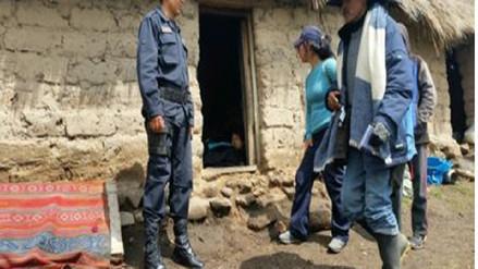 Mujer murió tras impacto de rayo en Chumbivilcas