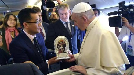 Así se elaboró el anda del Cristo Moreno que RPP regaló al papa Francisco