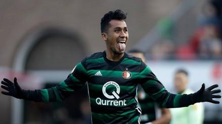 Renato Tapia nominado a mejor defensa de la primera parte de la  Eredivisie