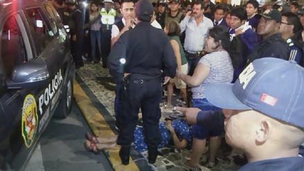 Policía que atropelló a feligreses pisó acelerador en vez de freno