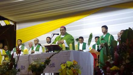 Loretanos celebraron misa por llegada del Papa Francisco
