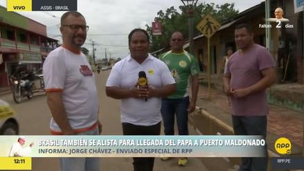 Expectativa en la frontera con Brasil por la llegada de Francisco