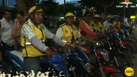 Motos lineales darán seguridad al papa Francisco en Puerto Maldonado
