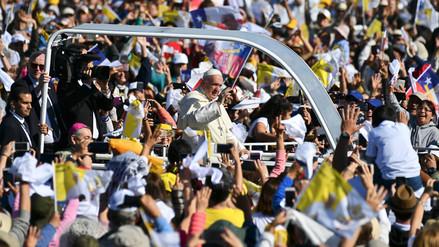 Las imágenes del papa Francisco en su paso por la Araucanía