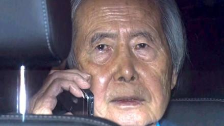 Alberto Fujimori fue dado de alta y regresó a su casa de La Molina