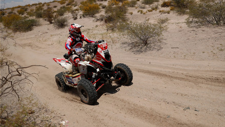 Las clasificaciones de los peruanos en la onceava etapa del Rally Dakar 2018