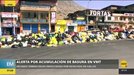 Acumulación de basura afecta a vecinos y comercios en Villa María del Triunfo