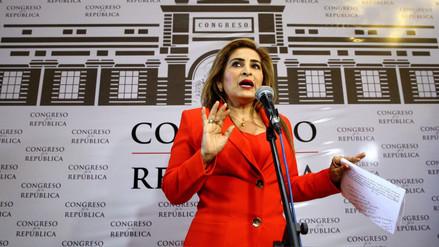 Maritza García cree que bloque que apoya a Kenji Fujimori no debe renunciar a Fuerza Popular
