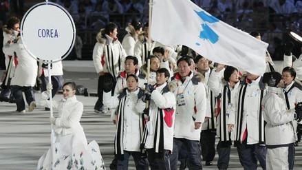 Las dos Coreas desfilarán bajo una misma bandera en los Juegos Olímpicos de Invierno