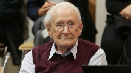 Alemania rechazó el pedido de indulto para el 'contador de Auschwitz'