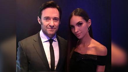 Hugh Jackman y Natalie Vértiz se reencontraron en Suiza
