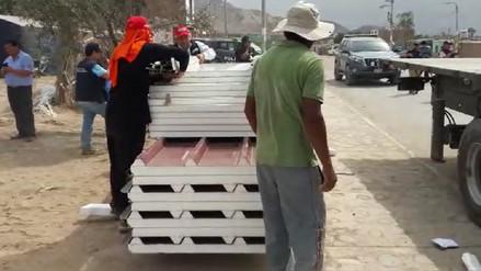Inician armado de módulos de vivienda en Bella Unión