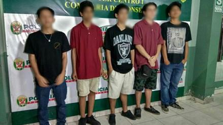 Capturan a cinco jóvenes que intentaron pintarrajear con espray el Santuario de Santa Rosa