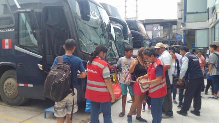 Sutrán inspecciona unidades de transporte que viajan hacia Trujillo