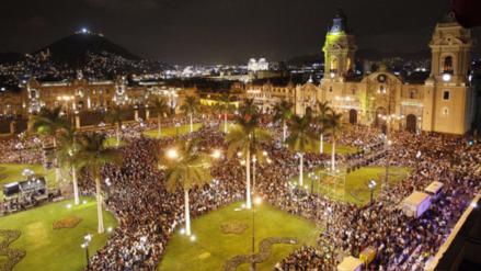El tráfico y la contaminación, problemas de una Lima en celebración