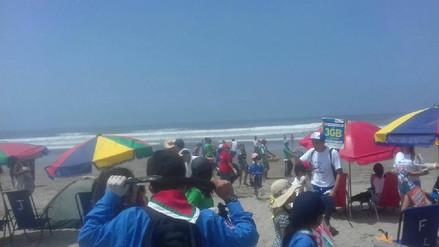 Playa de Puerto Eten califica como saludable para los veraneantes