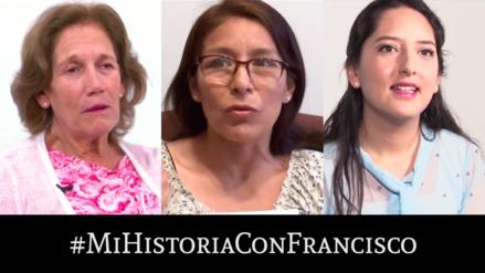 Un bautizo, una carta, un video: tres historias de peruanas que interactuaron con Francisco antes de su llegada a Perú