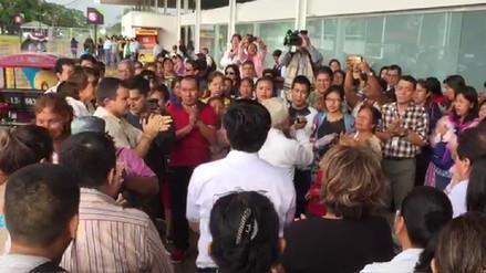 Loretanos participaron de misa en cruz del Papa Juan Pablo II en Iquitos