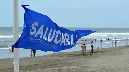 Instalan banderas azules para señalar playas 'saludables'