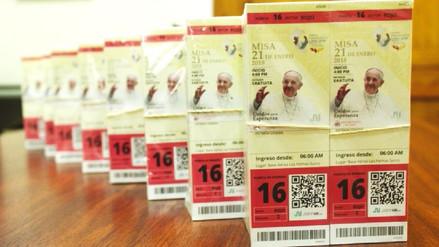 Misa del Papa en Lima: Pese a que ingreso es gratuito, venden entradas en portal web