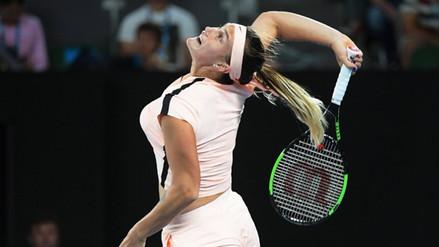 Aryna Sabalenka alcanzó su mejor ubicación en el ranking WTA con el puesto 114 del mundo.