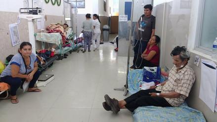 Hospital Las Mercedes hacinado ante gran demanda de pacientes