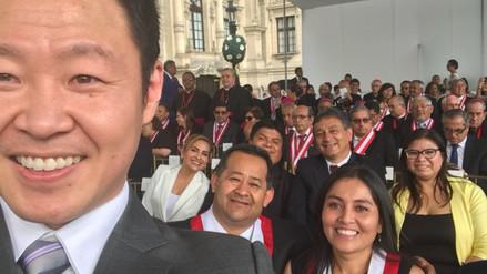Las personalidades que asistieron a Palacio de Gobierno para escuchar al papa Francisco