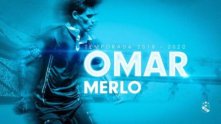 Sporting Cristal oficializó la llegada del defensa argentino Omar Merlo