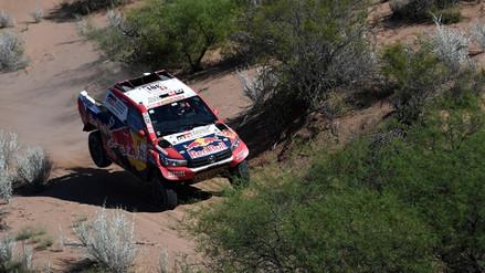 Las clasificaciones de los peruanos en la etapa 13 del Rally Dakar 2018