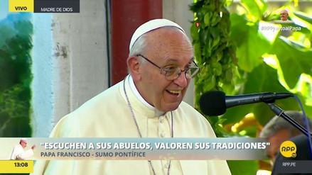 """El Papa a los jóvenes de pueblos amazónicos: """"El mundo los necesita tal y como son"""""""