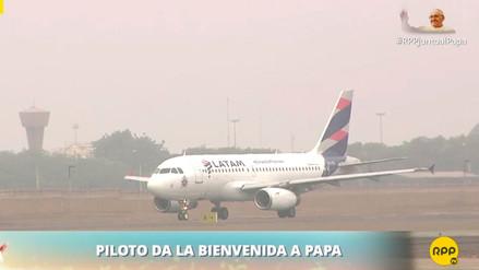 """Piloto del avión del Papa a Puerto Maldonado: """"Es una bendición tener a Su Santidad en el Perú"""""""